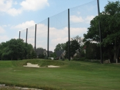 """<h5>Golf Netting</h5><p>Golf netting is used throughout golf courses to keep rogue balls flying onto roads and hitting other buildings.</br> Learn more about <a href=""""/netting-products/golf-netting/"""">golf netting</a>. </br><a href=""""/portfolio/golf-netting-2/"""">See all the pictures.</a></p>"""
