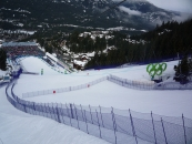 """<h5>Ski Netting</h5><p>Redden Net supplied and installed the netting for the 2010 Olympic Winter games in Vancouver.</br> Learn more about our <a href=""""/netting-products/sport-netting/"""">sport netting</a>.</br> <a href=""""/portfolio/ski-netting/"""">See all the pictures</a></p>"""
