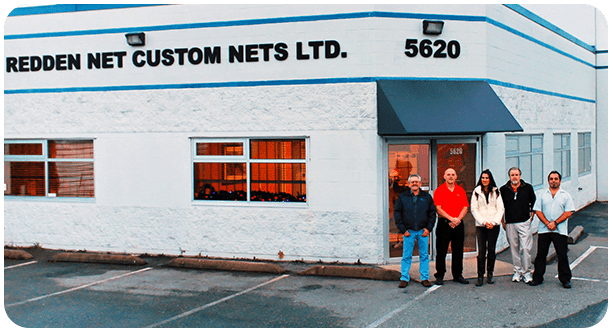 Redden Net Team at Langley Facility