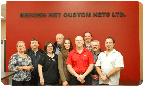 Redden Net Custom Nets Team Photo