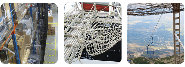 Safety Pallet Rope Netting | Redden Net Custom Nets Ltd.